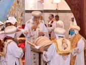 الكنيسة الأرثوذكسية توضح تفاصيل تدشين كاتدرائية القديس مقاريوس بوادى النطرون