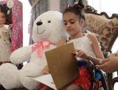 """الرئيس الروسى يرد على رسالة طفلة سورية لقبته بـ """"أبو على بوتين""""... صور"""