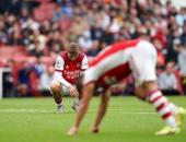 أرسنال يحقق رقماً سلبياً فى الدوري الإنجليزي بعد خماسية السيتي