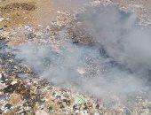 """شكوى من تراكم القمامة فى قرية سندبسط فى الغربية.. و""""المدينة"""" تشن حملة نظافة"""
