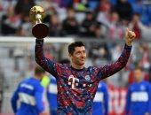 ليفاندوفسكي يتسلم جائزة أفضل لاعب فى ألمانيا قبل لقاء هيرتا برلين.. فيديو