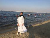 متعة الصيف على شواطئ الإسماعيلية.. أجواء مبهجة وإقبال كبير .. فيديو