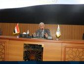 محافظ جنوب سيناء يناقش المشروعات الجاهزة للافتتاح فى ذكرى انتصارات أكتوبر