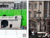 إنشاء يخت ملكي ومدخل قصر باكنجهام من أجل مسلسل The Crown.. صور