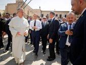 الرئيس الفرنسى: سنعمل على إعادة اعمار كنيسة الساعة والكنائس الأخرى بالموصل