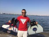 السباح العالمى سيد باروكى يستعد فى إيطاليا لأكبر حدث مصرى فى تاريخ السباحة العالمية