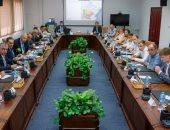 وفد روسى يزور المنطقة الاقتصادية لوضع آليات التشغيل وتوقيع عقد مشروع المنطقة الروسية