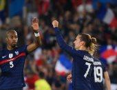 جريزمان يقود هجوم منتخب فرنسا أمام أوكرانيا وبنزيما على مقاعد البدلاء