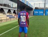 مرحلة ما بعد ميسى.. برشلونة يعلن إرتداء أنسو فاتى للقميص رقم 10