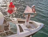 حب للأبد.. ماجد المصرى يحتفل بعيد ميلاد زوجته رانيا وسط مياه البحر.. صور