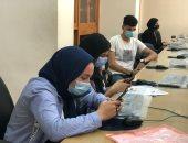 معامل التنسيق بجامعة المنصورة تستقبل طلاب المرحلة الثانية.. فيديو وصور
