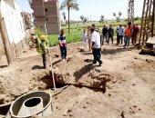 """مدارس ومجمعات خدمية.. اعرف نسب تنفيذ مشروعات قرى """"حياة كريمة"""" فى المنيا"""