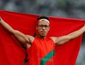 عبد السلام حيلي يهدى المغرب أول ذهبية فى الألعاب البارالمبية طوكيو 2020