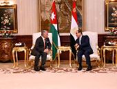 جلسة مباحثات ثنائية بين الرئيس عبد الفتاح السيسى والعاهل الأردنى