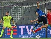 منتخب إيطاليا يتعادل مع بلغاريا 1 - 1 فى الشوط الأول بـ تصفيات كاس العالم
