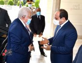 الرئيس السيسى يؤكد استمرار مصر فى مساعدة الشعب الفلسطينى لاستعادة حقوقه