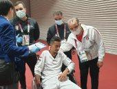 اللجنة المنظمة تتراجع وتتمسك بضرورة تواجد محمد الزيات على منصة التتويج البارالمبى