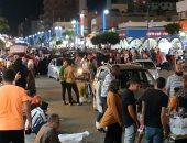 بث مباشر.. مطروح مدينة لا تنام خلال المصيف.. زحام ورواج تجارى وسياحى حتى الصباح