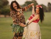 محمد ثروت وزوجته ضيفا its show tim على قناة cbc الإثنين المقبل