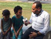 أب يقيد بناته بالسلاسل الحديدية ويعذبهن فى الإسماعيلية.. الأطفال يروون التفاصيل