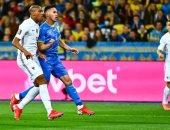 منتخب فرنسا يواصل نتائجه الضعيفة بـ تصفيات كأس العالم بالتعادل مع أوكرانيا
