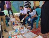 """جامعة العريش تنفذ قوافل طبية وتوعوية بقرى شمال سيناء ضمن """"حياة كريمة"""".. صور"""