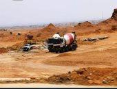 محافظ جنوب سيناء يتابع تطوير الطريق الدائرى الجديد بشرم الشيخ.. صور