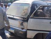 السيطرة على حريق سيارة أمام مستشفى الكرنك ورفع 7 طن مخلفات بمدينة الأقصر