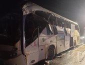 """ننشر أسماء حادث ضحايا انقلاب أتوبيس بطريق """"السويس- القاهرة"""""""