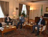 """أبو الغيط يلتقى رئيس """"الاقتصادى الجزائرى"""".. ويتلقى دعوة لحضور مؤتمر بنوفمبر"""