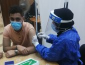 جامعة كفر الشيخ تبدأ حملة موسعة لتطعيم الطلاب بلقاح كورونا.. صور