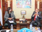 """وزيرة الهجرة تعلن مشاركة الدكتور وسيم السيسي بالمبادرة الرئاسية """"اتكلم عربي"""""""