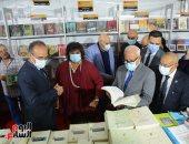 وزيرة الثقافة تفتتح معرض بورسعيد الرابع للكتاب على أنغام السمسمية.. صور