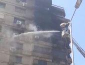 مصرع طالبة وإصابة اثنين من أشقائها فى حريق شقة بأبو النمرس فى الجيزة
