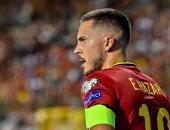هازارد مهدد بالغياب عن ريال مدريد ضد برشلونة بعد إصابته مع بلجيكا
