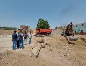 مدينة إسنا تشهد بدء العمل فى إنشاء أول مركز خدمات الزراعية بقرية الدير