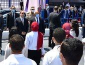"""الرئيس السيسى يتفقد محطة """"تحيا مصر"""" بميناء الإسكندرية البحرى.. صور"""