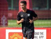 لقد عاد من جديد.. أول صور لـ كريستيانو رونالدو فى تدريبات مانشستر يونايتد