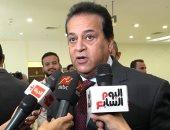 """وزير التعليم العالى لـ""""صالة التحرير"""": 290 مركزا بالجامعات لتطعيم الطلاب ضد كورونا"""