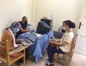 جامعة القاهرة تواصل استقبال طلابها للتطعيم مجانًا ضد فيروس كورونا.. صور