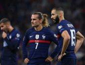 ثنائية جريزمان تقود منتخب فرنسا لتخطى فنلندا فى تصفيات كأس العالم.. فيديو
