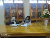 آداب حلوان توقع بروتوكولا مع الهيئة القومية للاستشعار عن بعد للتعاون المشترك