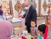 """قوافل جامعة طنطا الطبية تجوب القرى الأكثر احتياجا بالغربية ضمن """"حياة كريمة"""""""
