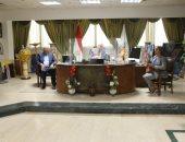 """محافظ جنوب سيناء يلتقى نقيب الزراعيين ووفد """"اكساد"""".. صور"""