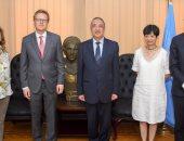 محافظ الإسكندرية يبحث مع سفير جمهورية ألمانيا سبل تعزيز التعاون بين الجانبين