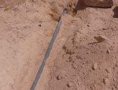 مياه مطروح: حملات لازالة التعديات على الخط الناقل للمياه بمنطقة الضبعة