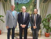 محافظ جنوب سيناء يلتقى رئيس مهرجان شرم الشيخ الدولى للمسرح الشبابى