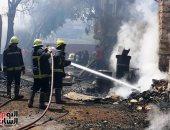 النيابة تنتدب المعمل الجنائى لمعاينة موقع حريق نشب داخل شقة سكنية فى المرج