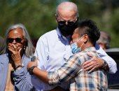 الرئيس الأمريكى يتفقد الولايات المتضررة من إعصار إيدا المدمر