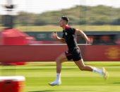 """مانشستر يونايتد يحتفى بمشاركة رونالدو في التدريبات: """"لا أحد يستطيع إيقافه"""""""